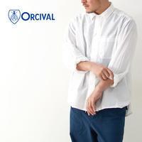ORCIVAL [オーチバル・オーシバル] M's COTTON VOILE SHIRTS [RC-3756 CNV] カバーオールシャツ・MEN'S - refalt blog