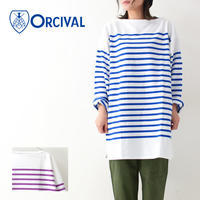 ORCIVAL [オーチバル・オーシバル] W's REGULAR STRIPE BIG L/S TEE [RC01-6101C] カットソー・ LADY'S - refalt blog
