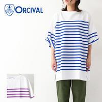ORCIVAL [オーチバル・オーシバル] W's REGULAR STRIPE BIG S/S TEE [RC01-6116C] カットソー・長袖・ LADY'S - refalt blog