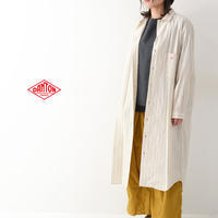 DANTON [ダントン] W's L/S COTTON POPLIN STRIPE LONG SHIRTS [JD-3727 MTP]  シャツワンピース・LADY'S - refalt blog