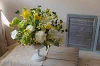 3月のレッスンより - mille fleur の花日記