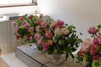 3月のグループレッスンより - mille fleur の花日記