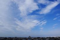 濃密雲(巻雲) - 日々の風景