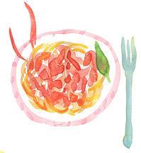 週末スパゲティ - ことりごと2
