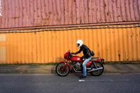山﨑 達矢 & Moto Guzzi V35 Imola(2019.11.02/FUNABASHI) - 君はバイクに乗るだろう