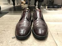 果てしない靴磨き - シューケアマイスター靴磨き工房 銀座三越店