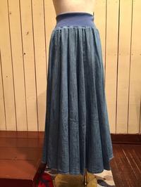 シャンブレースカートは春夏にぴったり - lilaのひとりごと