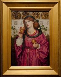 ロセッティの「愛の杯」 - 雲母(KIRA)の舟に乗って