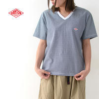 DANTON [ダントン] W's 空紡天竺 POCKET Vネック T BORDER [JD-9213] ポケットTシャツ・LADY'S - refalt blog