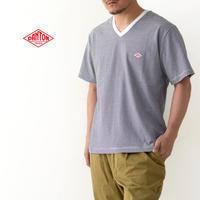 DANTON [ダントン] M's 空紡天竺 POCKET Vネック T BORDER [JD-9213] ポケットTシャツ・Vネック・ボーダー・MEN'S - refalt blog