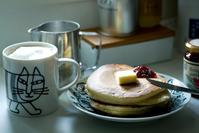 ホットケーキの朝。 - ナナイロノート