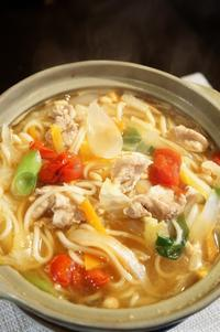 ■麺類・晩ご飯【鍋焼きうどん】 - 「料理と趣味の部屋」