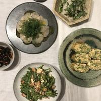 たっぷりディルのカルパッチョと、手作りカッテージチーズ - 鴨志田農園のおいしい毎日