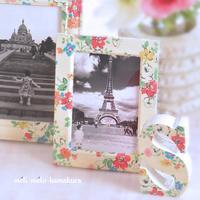 ◆デコパージュ*キャスキッドソンが好きでした - フランス雑貨とデコパージュ&ギフトラッピング教室 『meli-melo鎌倉』