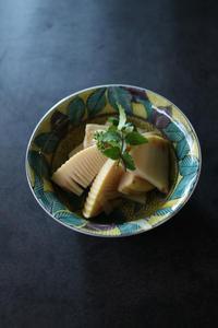 竹の子の土佐煮、トマトキムチ、きゅうりの味噌炒め、日向夏ゼリー - 自家製天然酵母パン教室料理教室Espoir3nさいたま市大宮