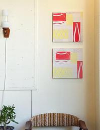 Vintage fabric panel - hails blog