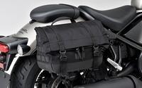 すごくいいサドルバッグ - バイクの横輪
