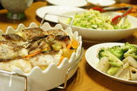 白身魚のオーブン焼き*レシピ付き -  川崎市のお料理教室 *おいしい table*        家庭で簡単おもてなし♪