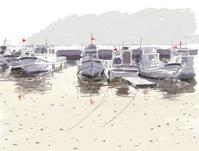 795船溜まり - こだわりの風景画(別館)