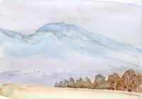 浅間山-春霞 - ryuuの手習い