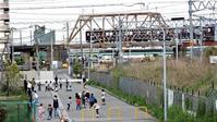 藤田八束の鉄道写真@阪急電車と元気な子供達、元気いっぱいの子供達と貨物列車の写真、さくら夙川駅からの鉄道写真 - 藤田八束の日記