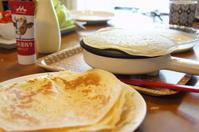 朝食にクレープ♥︎レシピ付き -  川崎市のお料理教室 *おいしい table*        家庭で簡単おもてなし♪