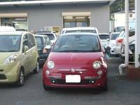 フィアット500車検整備(ブレーキパッド交換など) - 掛川・中央自動車