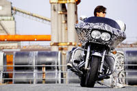 大谷 奈津江 & Harley-Davidson FLTR(2019.12.11/KUMAGAYA) - 君はバイクに乗るだろう