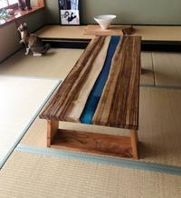 和室とレジンテーブル - SOLiD「無垢材セレクトカタログ」/ 材木店・製材所 新発田屋(シバタヤ)