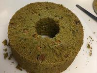 抹茶シフォンケーキとハーダンガー途中経過 - きままに自由時間