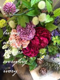 本日も元気に営業です〜♬ -  Flower and cafe 花空間 ivory (アイボリー)