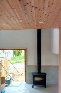 薪ストーブのある家が竣工しました。 - 暮らしと心地いい住まい