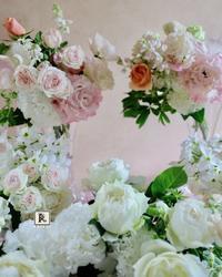 「ちょうど記念日なので、」とサプライズの贈り物のお花 - Bouquets_ryoko