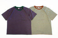 "COMFORTABLE REASON (コンフォータブルリーズン) "" Multi Border S/S Pocket Tee "" - two things & think Blog"