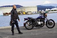 遠藤 智也 & kawasaki Z750D1(2019.12.15/SHIMIZU) - 君はバイクに乗るだろう