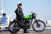 山本 真太郎 & kawasaki 250TR(2019.11.23/NAGOYA) - 君はバイクに乗るだろう