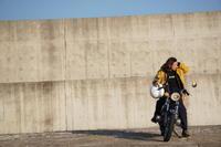 西野 克 & kawasaki 350SS(2020.01.19/OARAI) - 君はバイクに乗るだろう