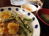 野菜天丼 - ブータン便り