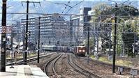 藤田八束の貨物列車の写真@さくら夙川駅と山崎駅、そして加島駅を比較してみました・・・それぞれ素晴らしい写真になりました - 藤田八束の日記