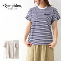 Gymphlex [ジムフレックス] W COMBED COTTON JERSEY TEE BORDER [J-1155CH] クルーネック  Tシャツ・ボーダー・ LADY'S - refalt blog
