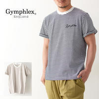 Gymphlex [ジムフレックス]M COMBED COTTON JERSEY TEE BORDER [J-1155CH]・ボーダーTシャツ・ MEN'S - refalt blog