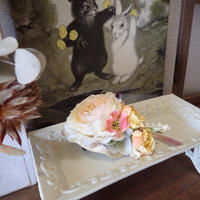 母から娘へ贈るコサージュ - 森の工房 Flower Work ナチュラルスローな空間