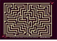 迷路-104/Maze-104/Labyrinthe-104 - セルリカフェ / Celeri Café