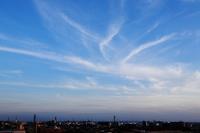 濃密巻雲 - 日々の風景