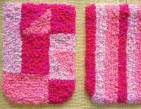 ポシェット制作中 - 空飛ぶ絨毯