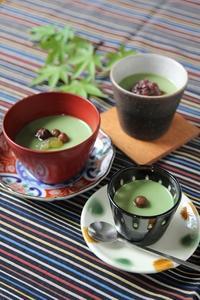 抹茶のミルクプリン - SUGAR & BUTTER