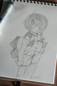 鬼太郎描いてみました - Omoブログ