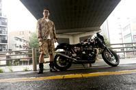 城山 宜弘 & TriumphThruxton900(2019.10.12/TOKYO) - 君はバイクに乗るだろう