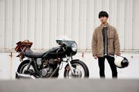 田村 大樹 & YAMAHA SR500(2020.01.04/TOKYO) - 君はバイクに乗るだろう
