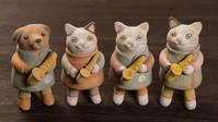 立ち猫楽器シリーズ - 月魚ひろこのときどきブログ